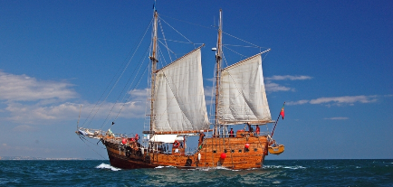 Santa Bernarda - Pirate Ship